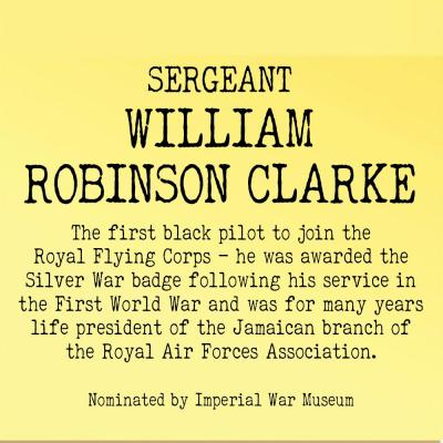 Sergeant William Robinson Clarke