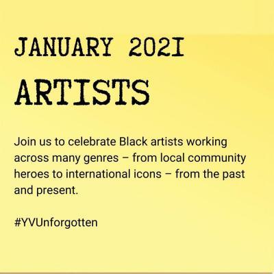 January 2021: Artists