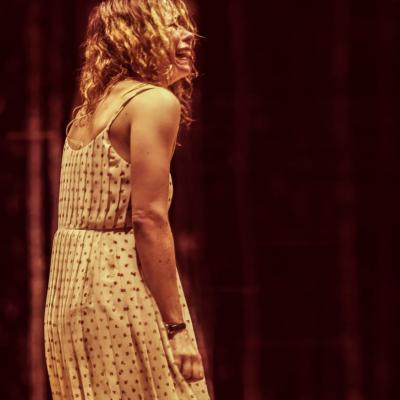 Billie Piper (Her) in Yerma at the Young Vic, photo by Johan Persson (2)