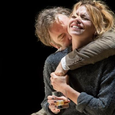 Brendan Cowell (John) and Billie Piper (Her) in Yerma at the Young Vic. Photo by Johan Persson