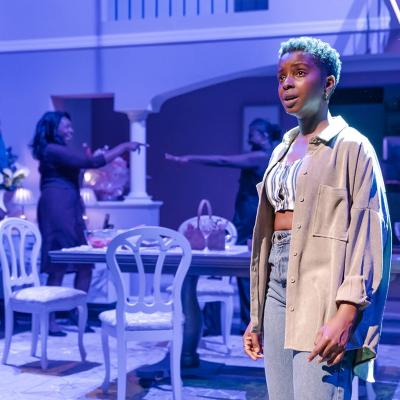 Donna Banya in Fairview at the Young Vic. Photo by Marc Brenner.