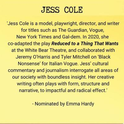 Jess Cole