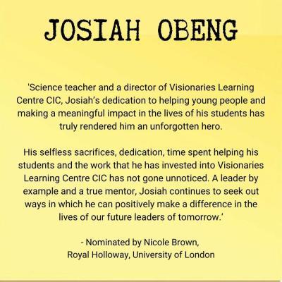 Josiah Obeng