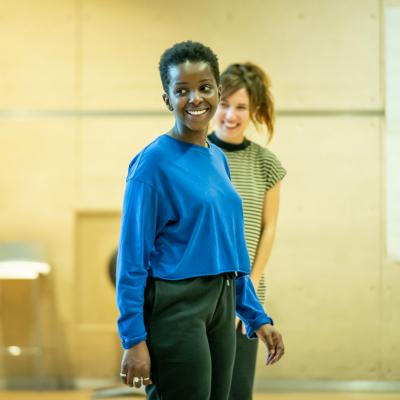 Donna Banya & Esther Smith in rehearsal for Fairview © Marc Brenner