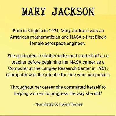 Mary Jackson