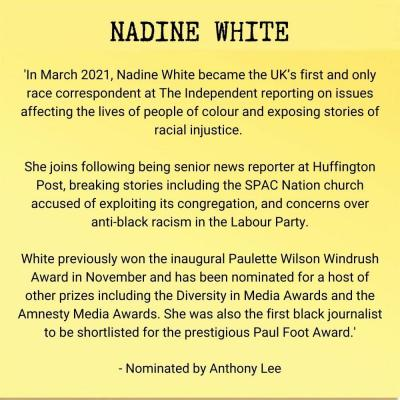 Nadine White