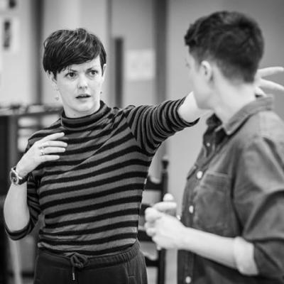 EJ Boyle (Movement Director) in Nora: A Doll's House in rehearsal (c) Marc Brenner