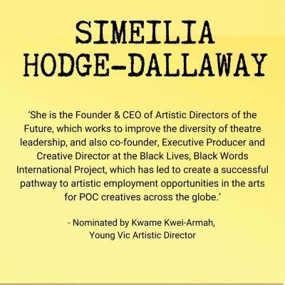 Simeilia Dallaway-Hodge