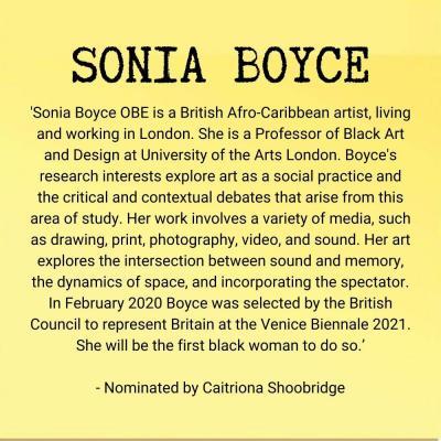Sonia Boyce