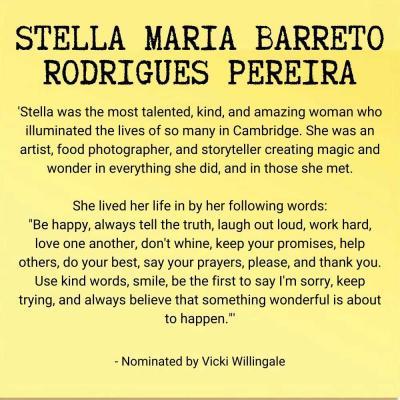 Stella Maria Barreto Rodrigues Pereira