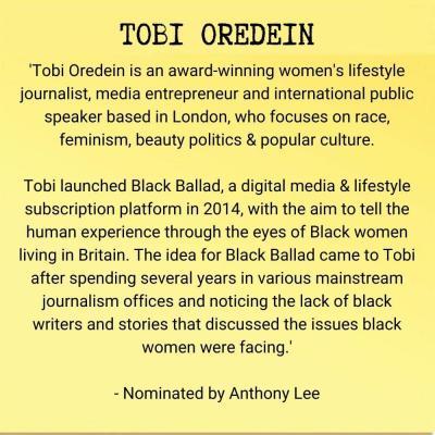 Tobi Oredein