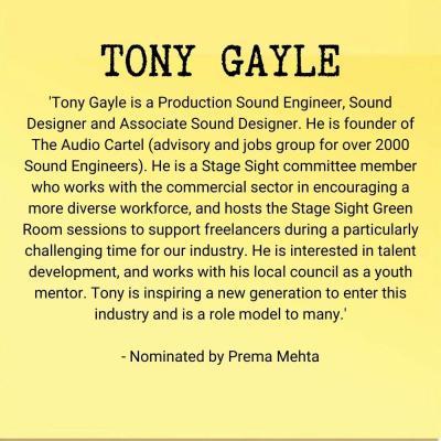 Tony Gayle