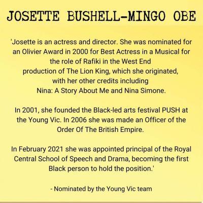 Josette Bushell-Mingo
