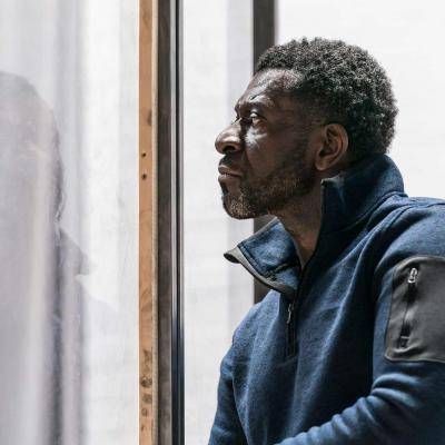 Oberon K. A. Adjepong in rehearsal for Jesus Hopped the 'A' Train (c) Johan Persson