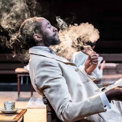 Ivanno Jeremiah in The Convert at the Young Vic. Photo by Marc Brenner.