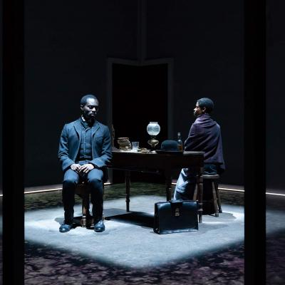 Paapa Essiedu & Letitia Wright in The Convert at the Young Vic. Photo by Marc Brenner.