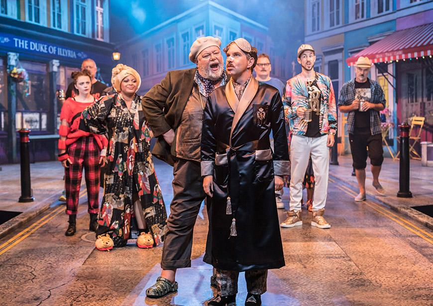 Twelfth Night at the Young Vic directed by Kwame Kwei-Armah