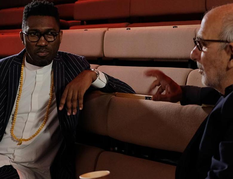 Kwame-Kwei-Armah-and-Alan-Yentob-at-the-Young-Vic-©-Luke-Finn-2020--BBC-